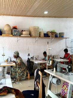 Sewing Cooperative at NWC, what they hope to take to the villages