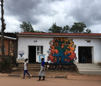 Children's library at NWC in Niyamirambo