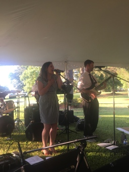 Wedding gig with old band